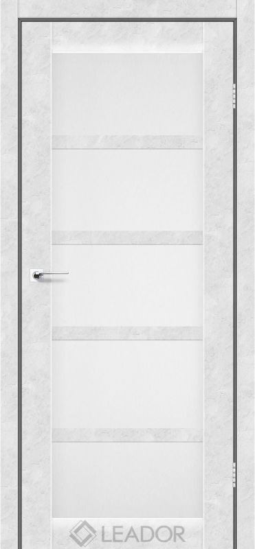 Veneto Sincrolam бетон білий скло сатин