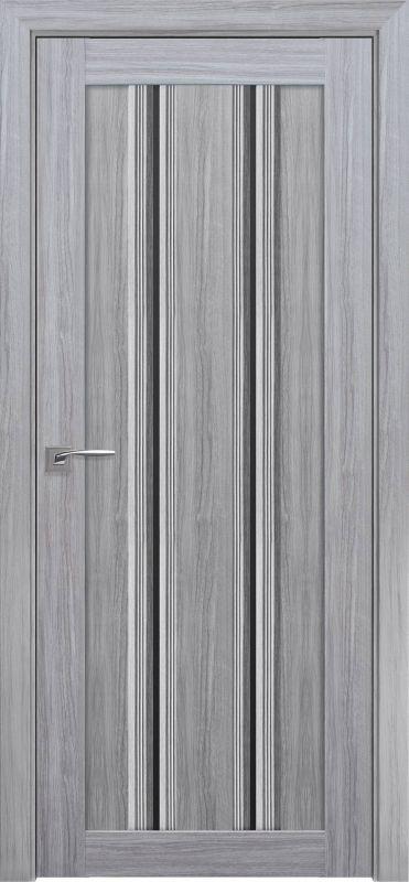 Дверне полотно Італьяно Верона C1 blk перлина срібна