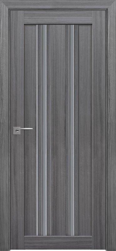 Дверне полотно Італьяно Верона C1 перлина графіт
