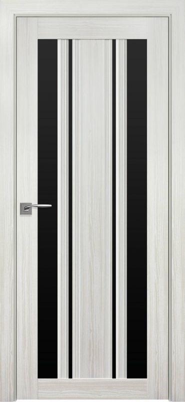 Верона С2 SmartCover перлина біла чорне скло
