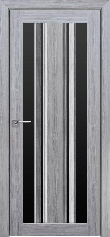 Верона С2 SmartCover перлина срібна чорне скло