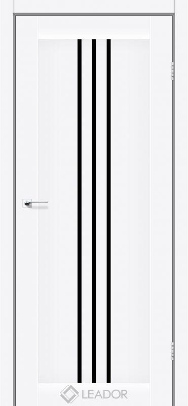 Verona Sincrolam білий матовий чорне скло