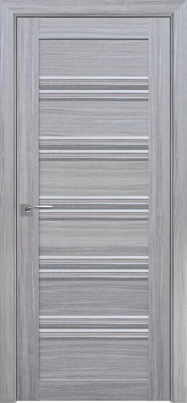 Дверне полотно Італьяно Віченца С1 перлина срібна