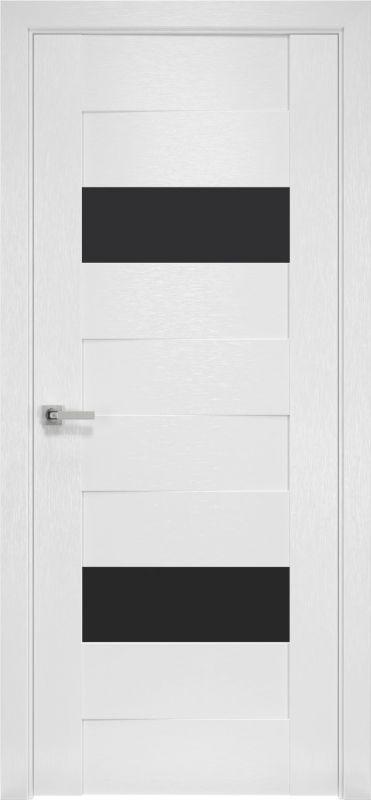 Дверне полотно Орні-X Женева blk х-білий